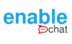 enable chat logo