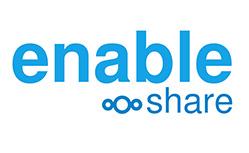 enable share logo