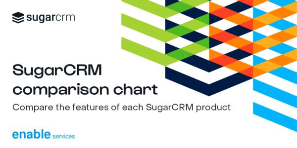 SugarCRM comparison chart