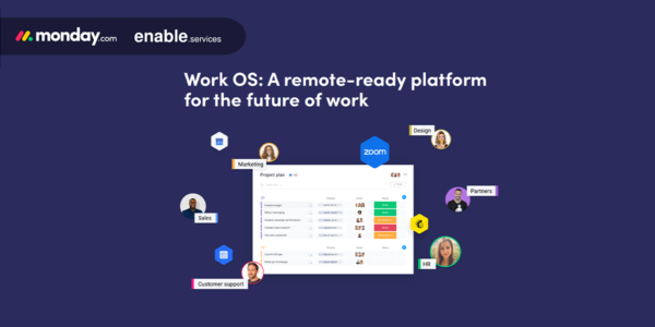 A remote-ready platform  for the future of work